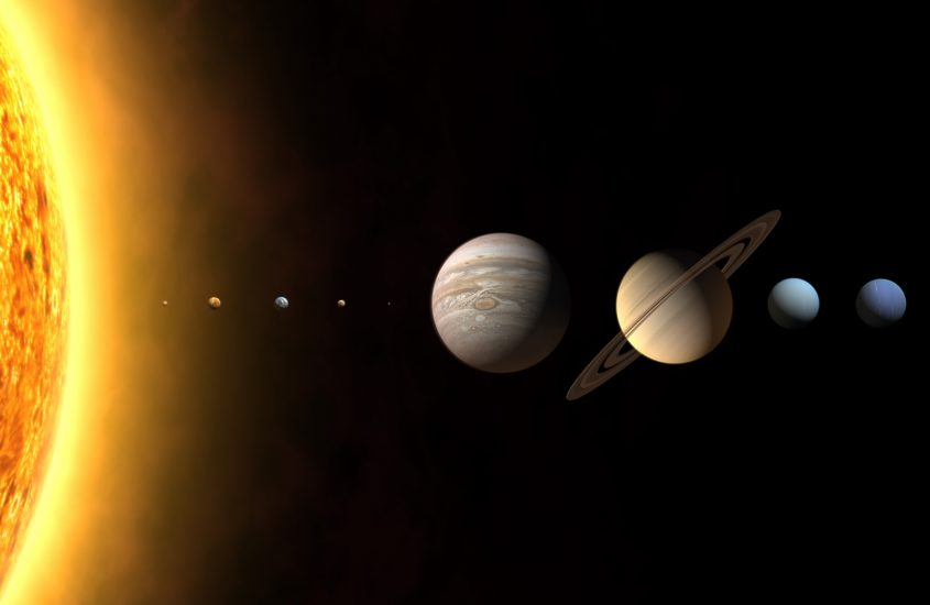 """Влияние планет на дни недели"""